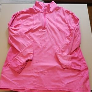 Hot pink athletic jacket
